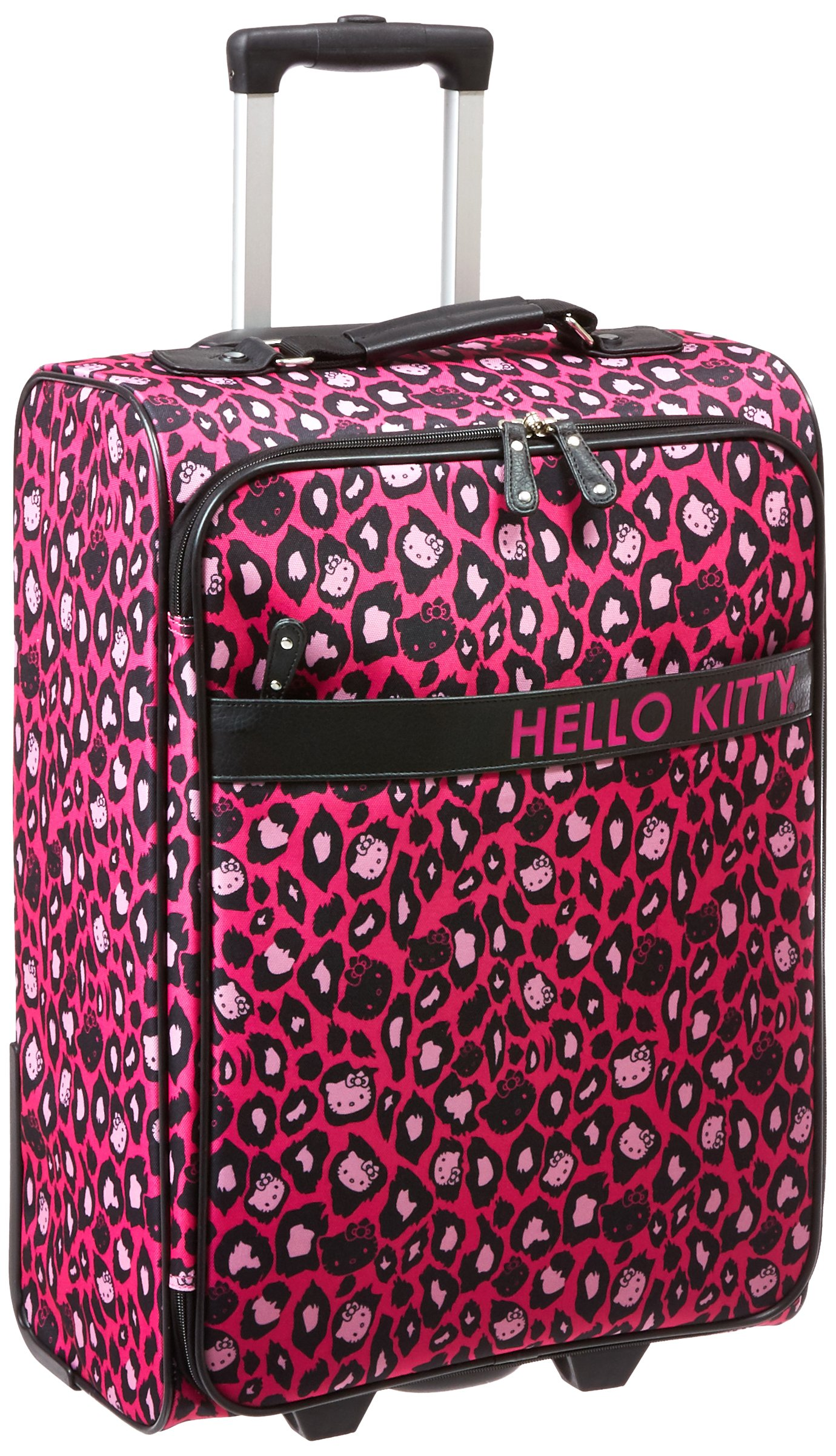 Hello Kitty Leopard Rolling Suitcase, Multi, One Size by Hello Kitty