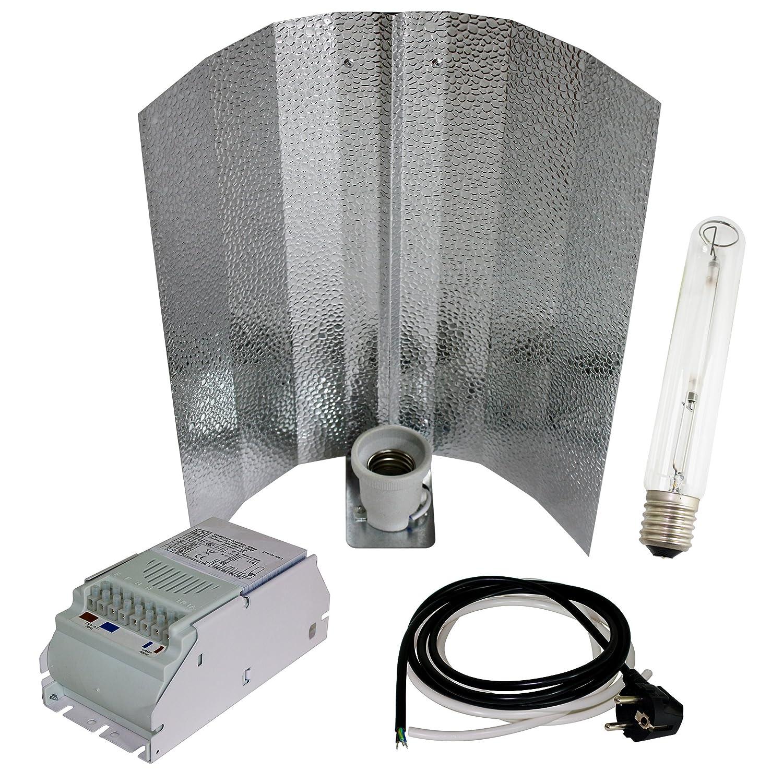400W Greenception Bausatz BLÜTE Natriumdampflampe Growset Pflanzenlampe