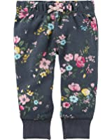 Carter's Baby Girls' Floral Pants