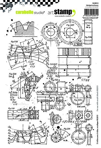 Carabelle Studio Industrial Design Cling Sello, Caucho, 15.0x20.0x0.5 cm