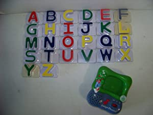 Leap Frog Lot Fridge Phonics Magnetic Alphabet Letters Complete Set 26 Uppercase