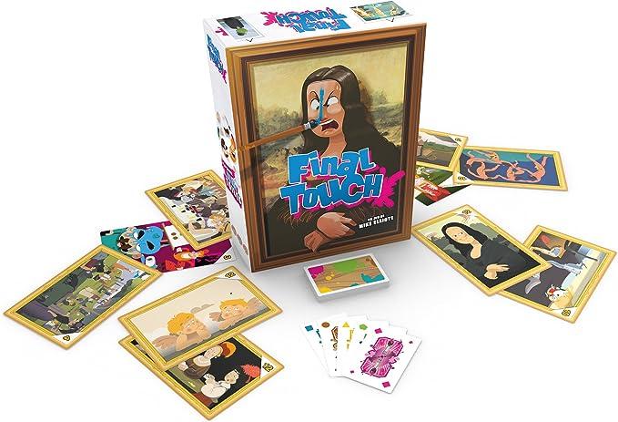 Asmodee SBFT01FR Final Touch: Amazon.es: Juguetes y juegos