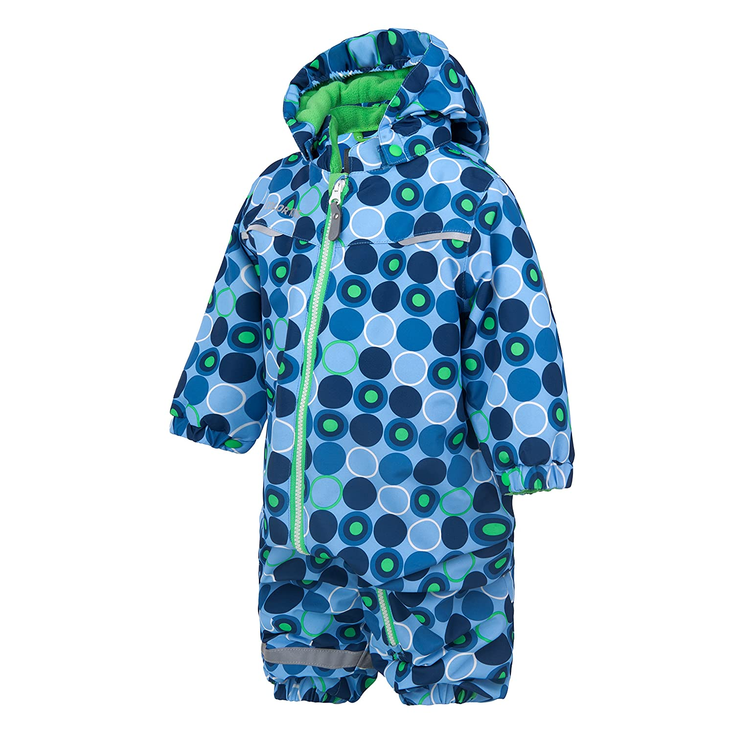 Color Kids.Ski-Anzug, 103051-187, Semora Overall, Vista Blue