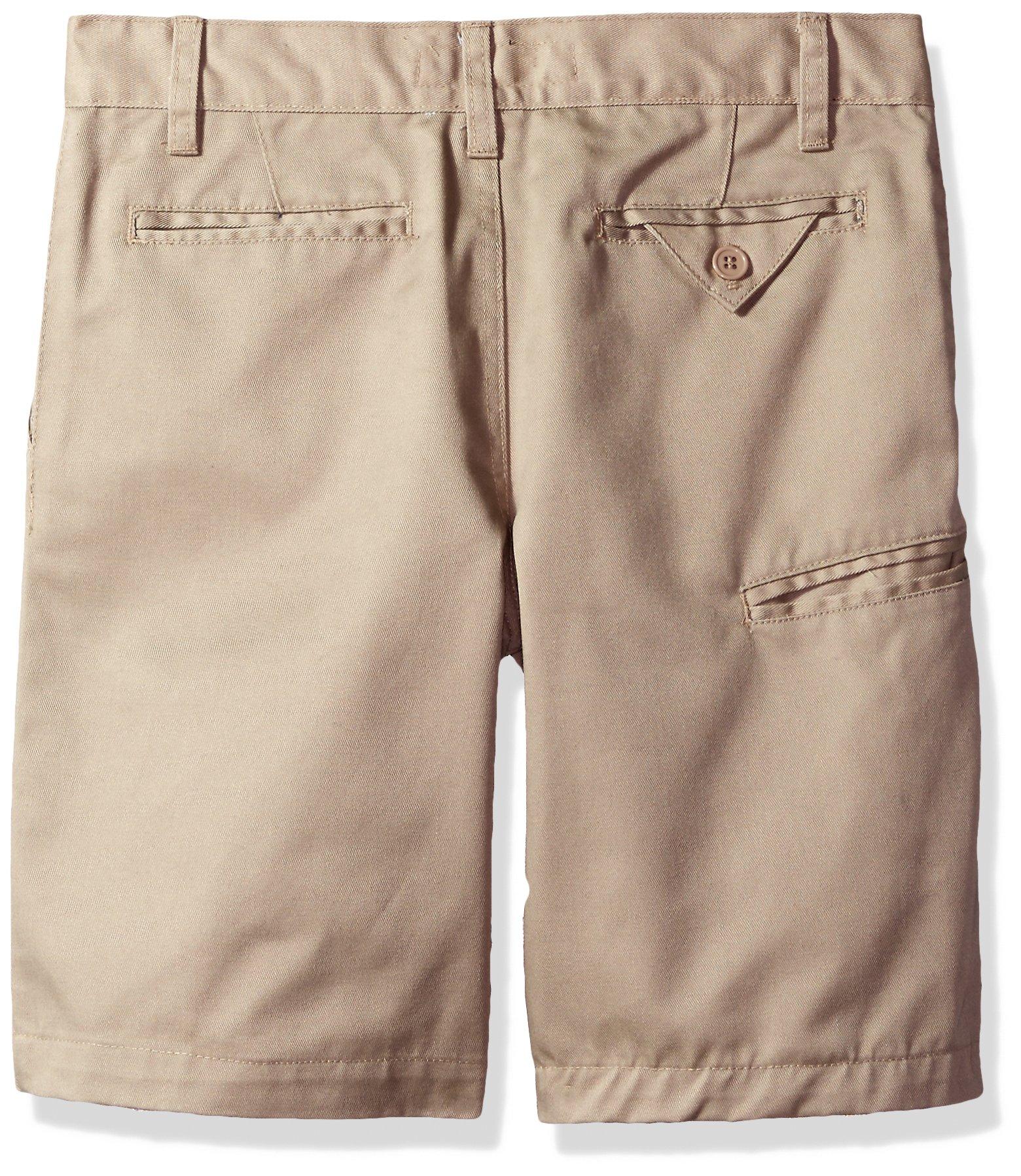 U.S. Polo Assn. Big Boys' Twill Short (More Styles Available), Khaki-IIIBEB, 20 by U.S. Polo Assn. (Image #2)