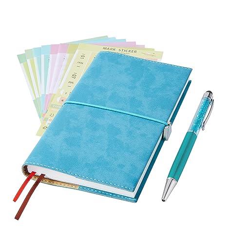 2019 Pocket Planner/Pocket Calendar /2019 Weekly Planner/Weekly Agenda/Monthly Calendar Organizer(Orange) (Teal)
