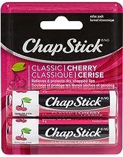 ChapStick Classic Cherry (2 Pack) Lip Balm, Skin Protectant, 4g x2