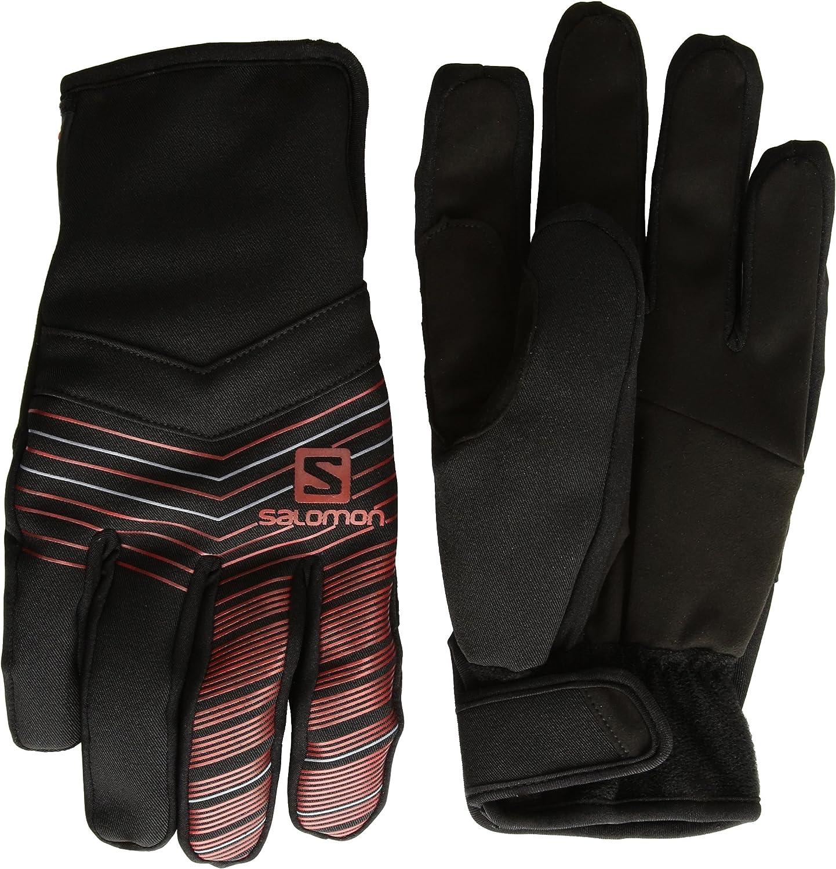 Salomon Gloves RS Warm Glove M Guantes, Hombre, Negro