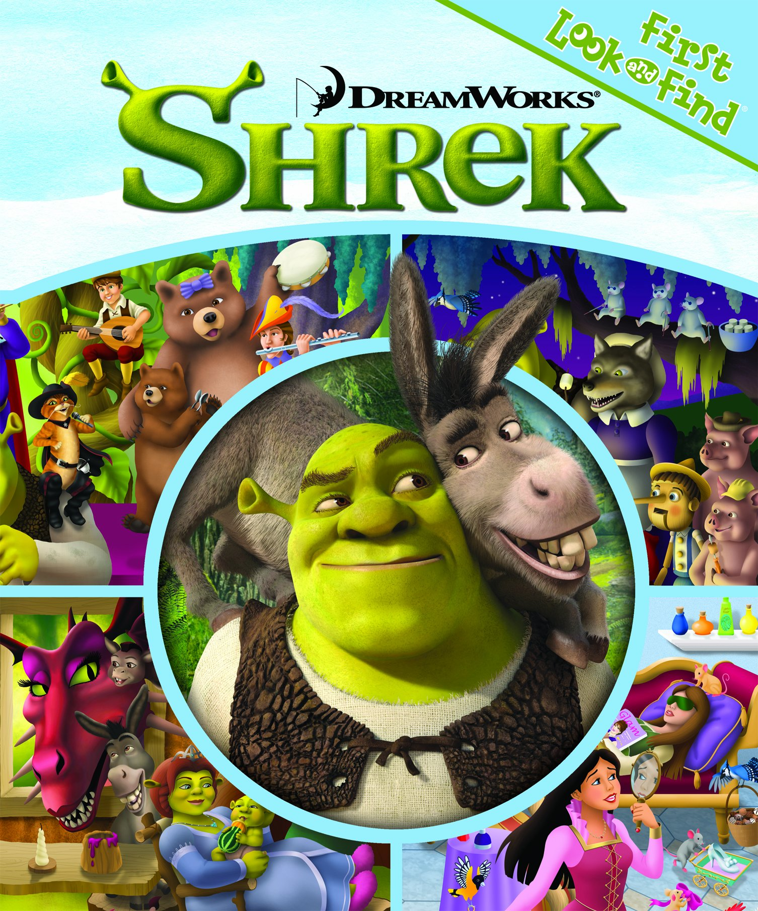 First Look And Find Shrek Editors Of Publications International Ltd Editors Of Publications International Amazon Com Books