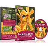 Nature DVD -Tropical Gardens and Orchids and Butterflies - With Music And Nature Sounds 2016
