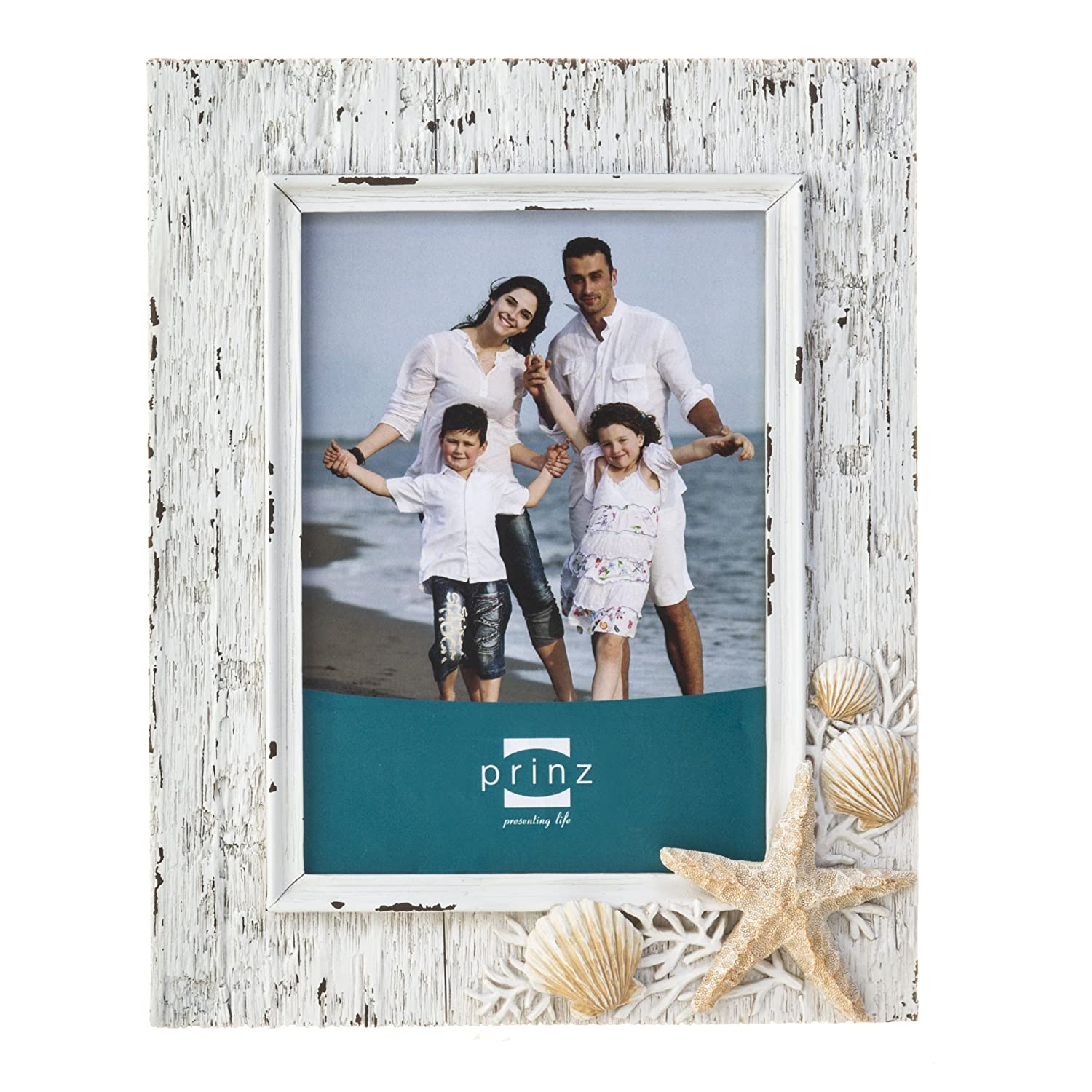 Amazon.com - Prinz Sand Piper Resin Frame in Natural White with ...