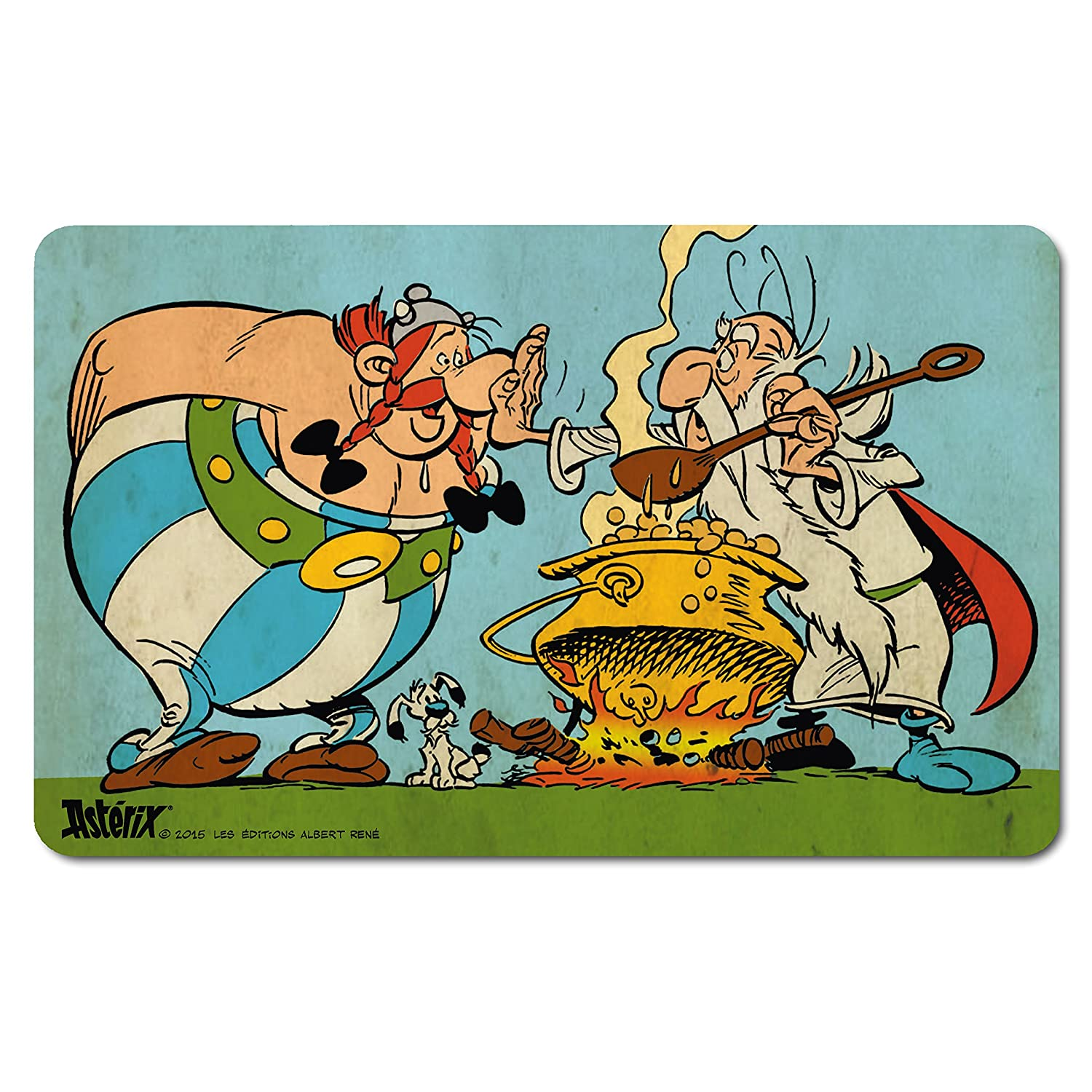 Getafix - No Magic Potion For Obelix - The Adventures Of Asterix - Comics - Breakfast Chopping Board - original licensed product - LOGOSHIRT