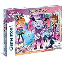 Clementoni 27088 Glitter Puzzle Vampirina Disney, 104 Parça