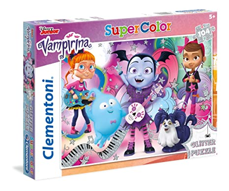 Glitter Puzzle 27088 Pièces Clementoni Vampirina 104 lKJc1F