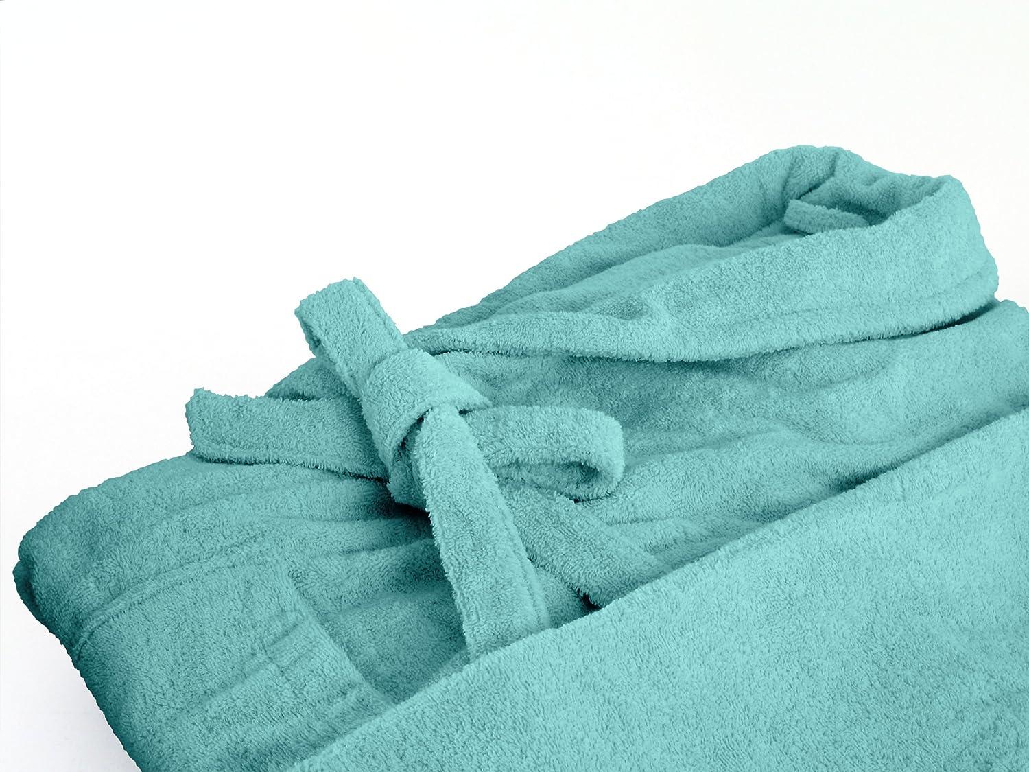 Cotone Gr Dyckhoff Accappatoio in Spugna con Collo Sciallato in 6/Colori e 5/Dimensioni per Uomo e Donna S Bianco
