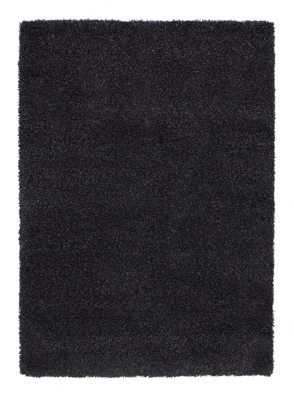 SIDNEY SHAGGY Hochflor Langflor Teppich Wolle in dk.grau, dk.grau, dk.grau, Größe  170x240 cm 4ab62f