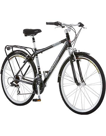 b74ef34676c Schwinn Discover Hybrid Bikes for Men and Women, Featuring Aluminum City  Frame, 21-