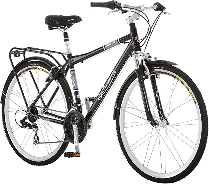 Best bike for college student: Schwinn Discover Hybrid Bike