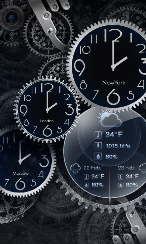 Amazon Antique Black Clock Live Wallpaper Appstore For Android