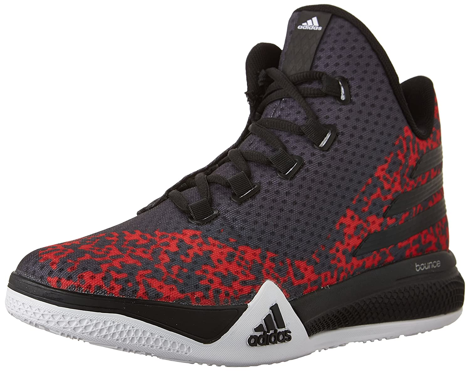 adidas Performance Men s Light Em Up 2 Basketball Shoes Black White Scarlet  12.5 D(M) US  Buy Online at Low Prices in India - Amazon.in b399c1225