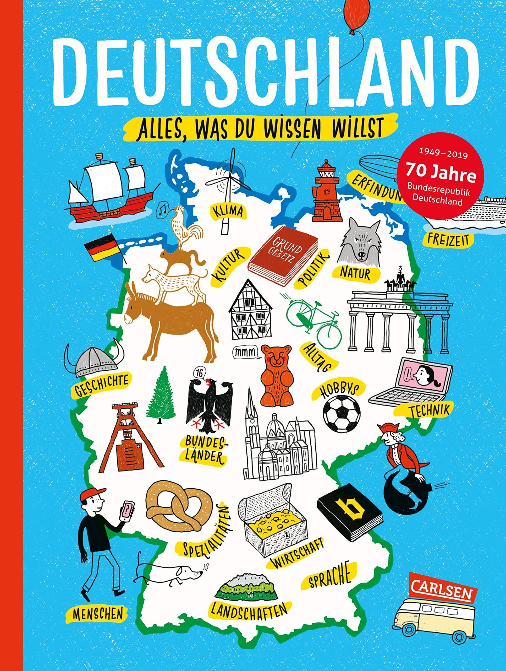 Deutschland Alles was du wissen willst Amazon Friederike