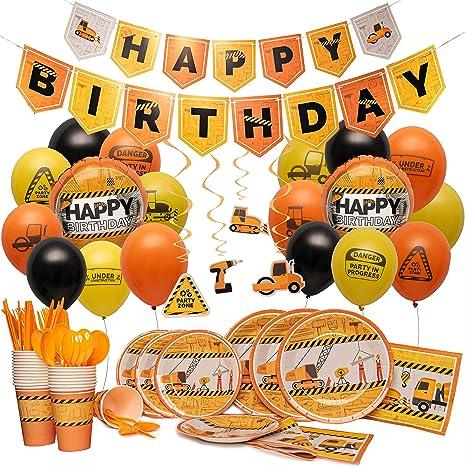 Amazon.com: Suministros de fiesta de cumpleaños de Nest ...