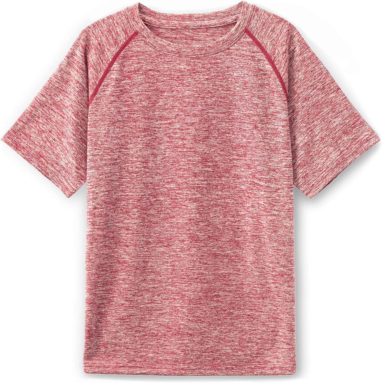 TSLA Kids HyperDri Short Sleeved Athletic Fit T-Shirt