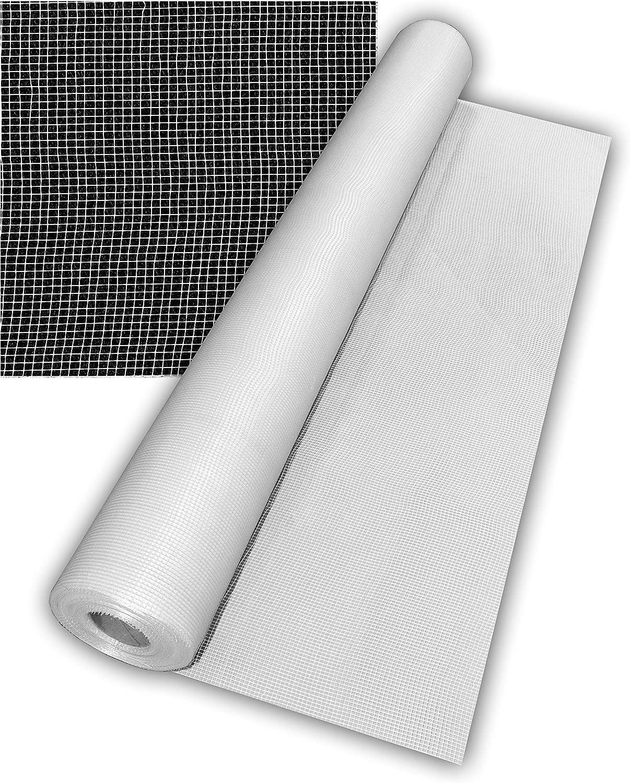 Malla de Fibra de Vidrio 60 gr. | Malla de refuerzo para impermeabilizar | Rollo de 50 m2.
