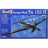 Revell Kit de maquette d'avion Focke Wulf Ta152H Échelle 1:72