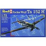 Revell Focke Wulf Ta 152 H 1:72 Assembly kit Fixed-wing aircraft - maquetas de aeronaves (1:72, Assembly kit, Fixed-wing aircraft, Focke Wulf Ta 152 H, Military aircraft, De plástico)