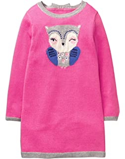 8b7aba43dc401 Amazon.com: Gymboree Girls' Toddler Polar Bear Sweater Shift Dress ...