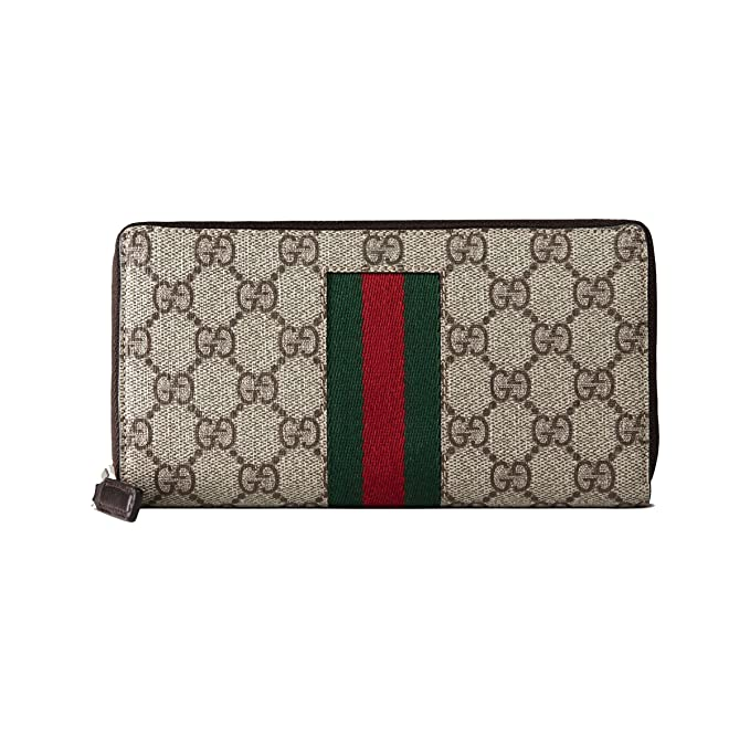 Gucci Billetera de cuero para Mujer SUPREME SIGNATURE