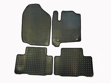 Amazoncom Toyota Rav Floor Mats By Connected - Rubber connecting floor mats