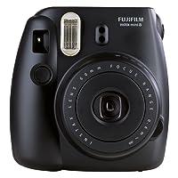 Fujifilm Instax Mini 8 Fotocamera Istantanea per Foto Formato 62 x 46 mm, Nero
