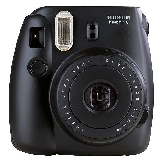 769 opinioni per Fujifilm Instax Mini 8 Fotocamera Istantanea per Foto Formato 62x46 mm, Nero