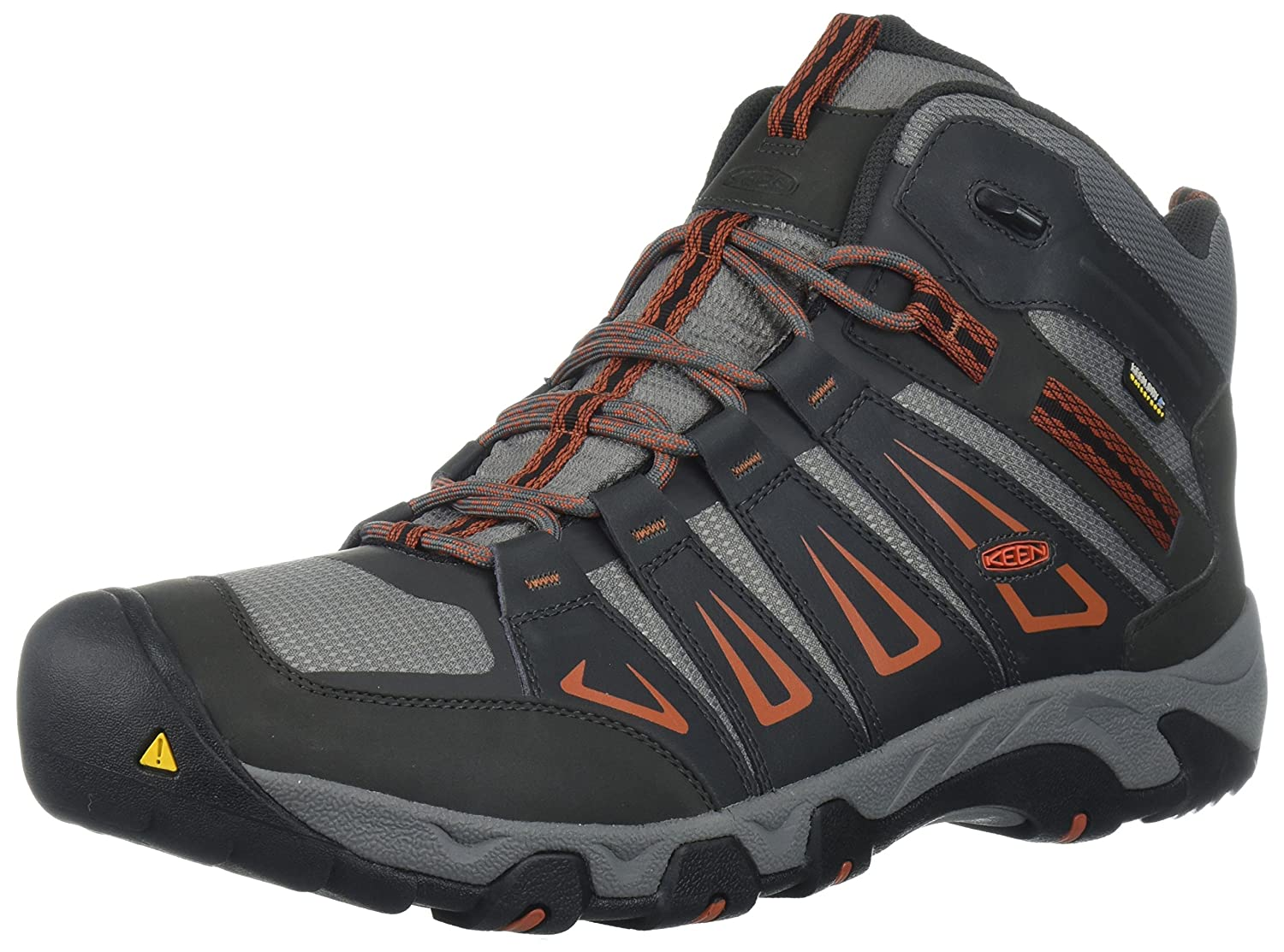 KEEN Men's Oakridge Mid Waterproof Hiking Boot Keen Adults - US SHOES 1015305-7.0