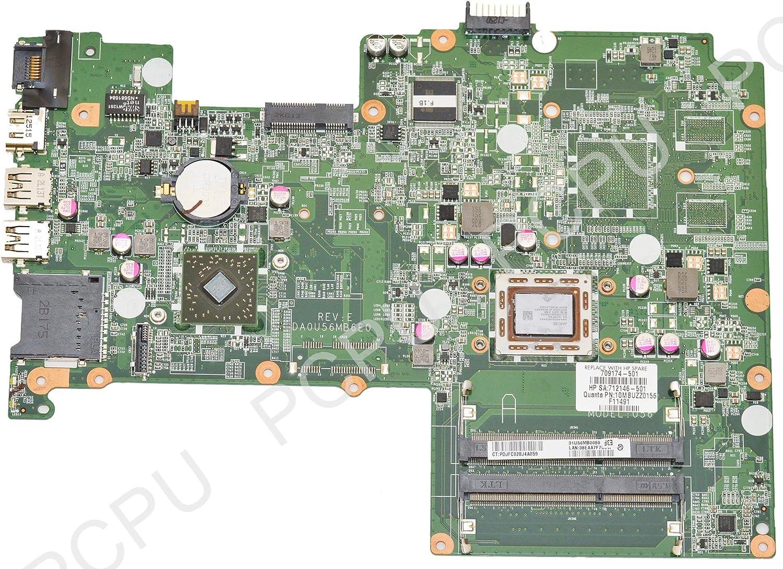 709174-501 HP Pavillion Sleekbook 15-B Laptop Motherboard w/AMD A6-4455M 2.1GHz CPU