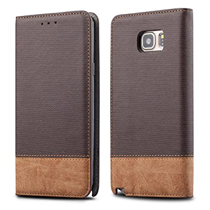 samsung s7 leather flip case
