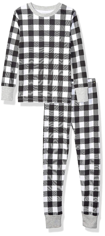 Essentials Long-Sleeve Tight-fit 2-Piece Pajama Set Ni/ñas