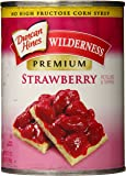 Wilderness Premium Pie Filling & Topping, Strawberry, 21 Ounce (Pack of 8)