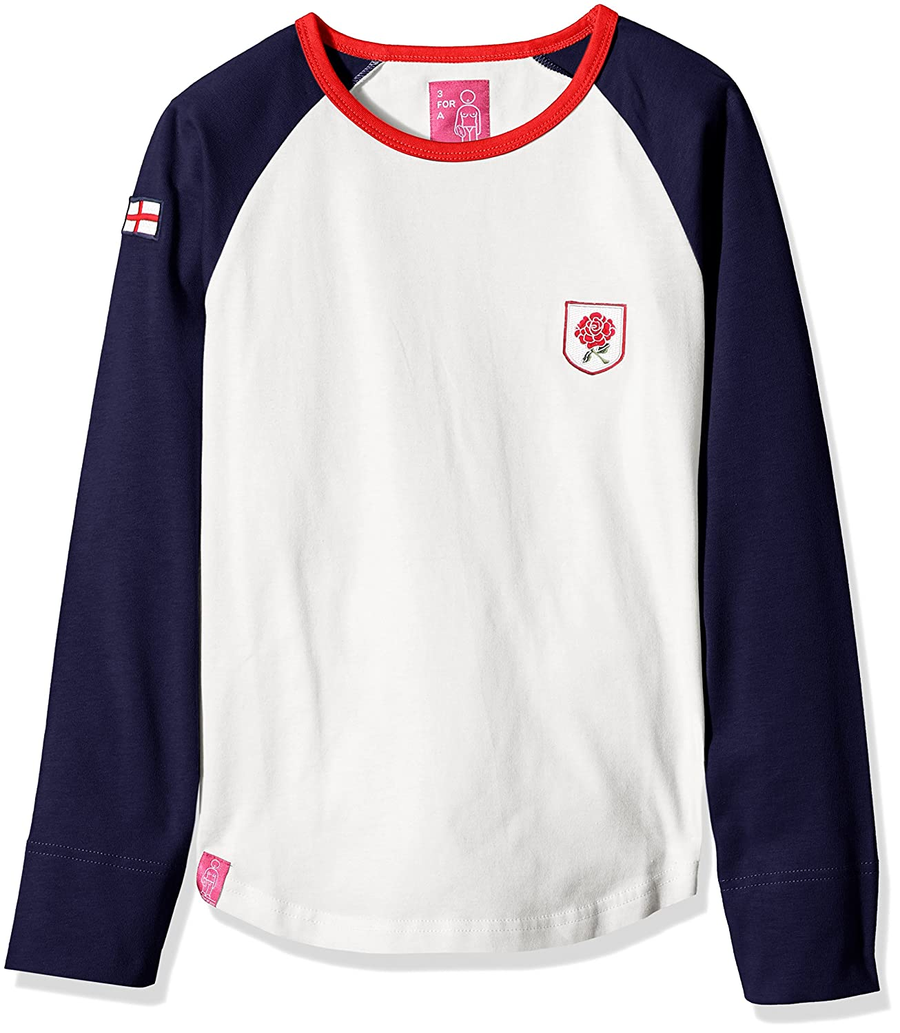 3 for a Girl Women's English Rugby Long Sleeve T-Shirt