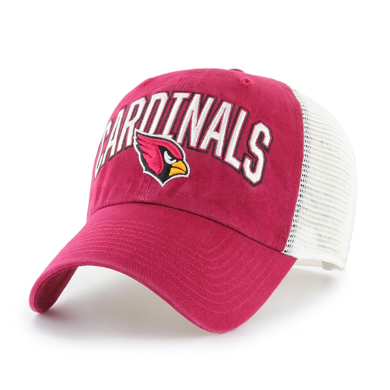 detailed look 46edc 8d7cd Amazon.com   NFL Arizona Cardinals Adult NFL Decry Ots Challenger  Adjustable Hat, One Size, Dark Red   Clothing