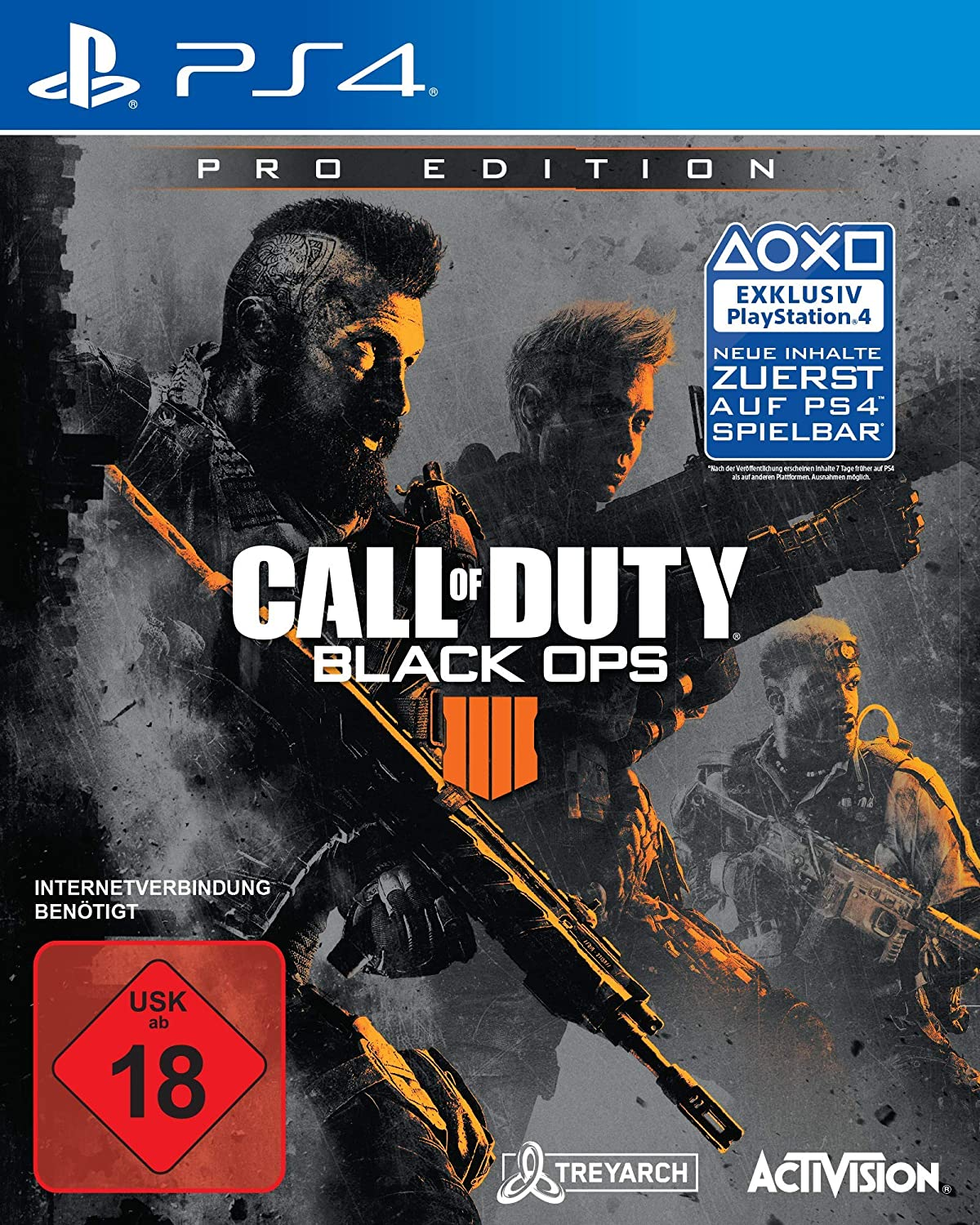 Call of Duty  schwarz Ops 4 - Pro Edition [PlayStation 4]