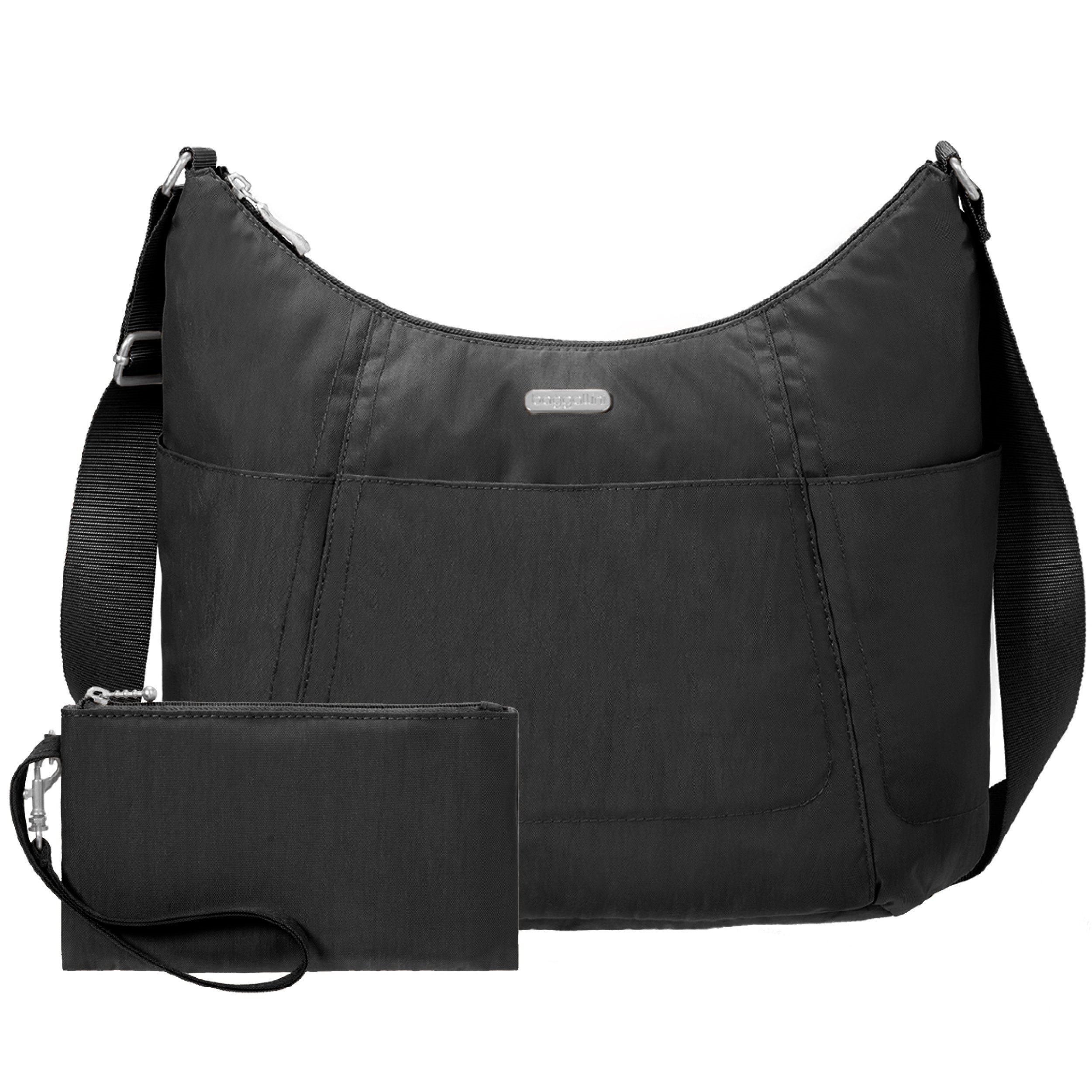 Baggallini Hobo Travel Tote, Black, One Size by Baggallini (Image #5)