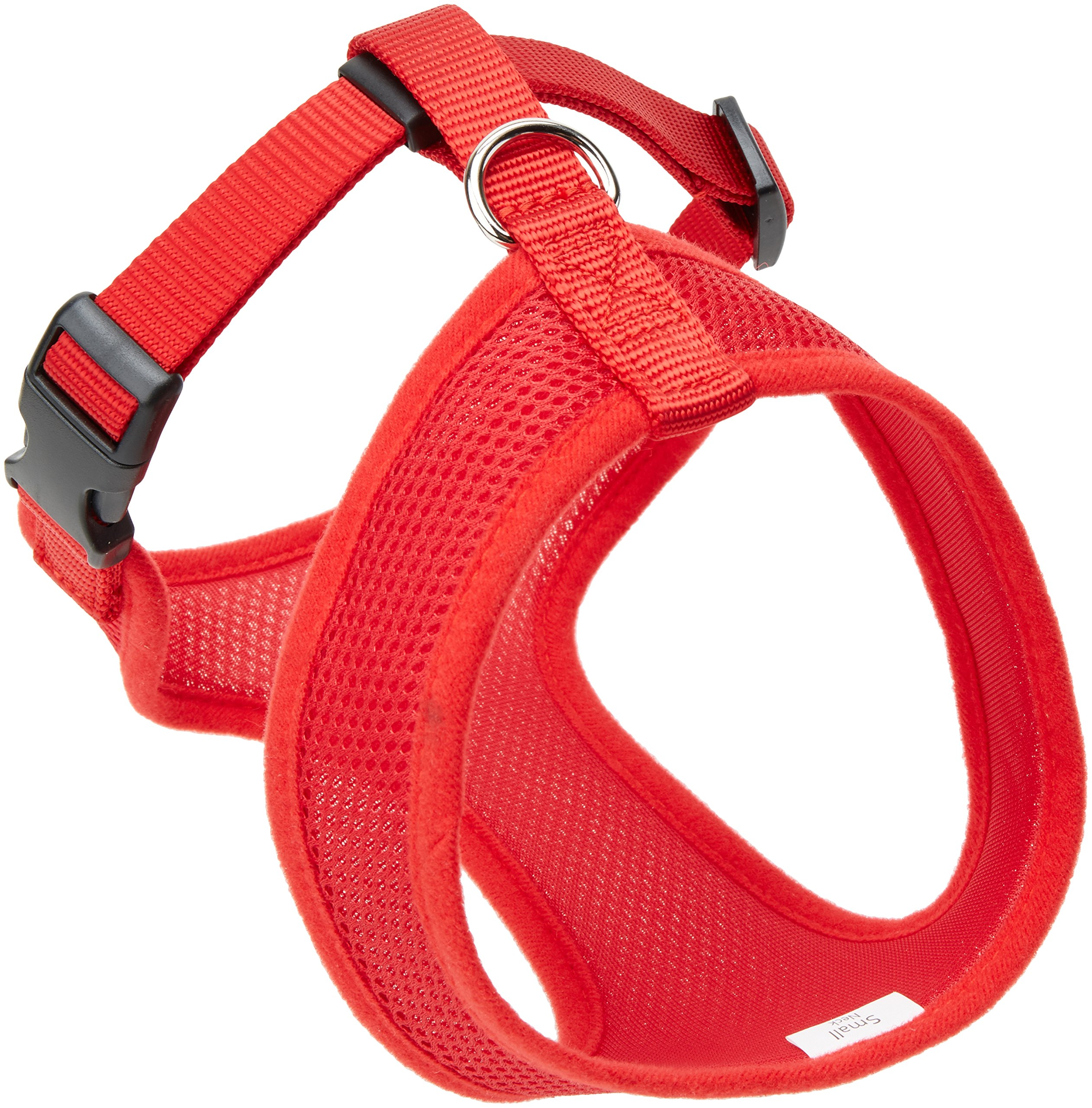 Coastal  Comfort Soft Adjustable Dog Dog Harness - Red Small For Dogs 11-18 lbs