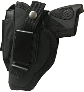 Holsters Black Nylon Gun holster With Magazine Holder For Ruger LCP 380