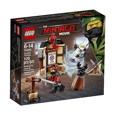 LEGO Ninjago Movie Spinjitzu Training 70606 Building Kit (109 Piece): Toys & Games
