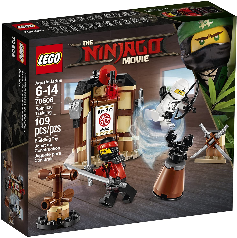 Amazon Com Lego Ninjago Movie Spinjitzu Training 70606 Building Kit 109 Piece Toys Games