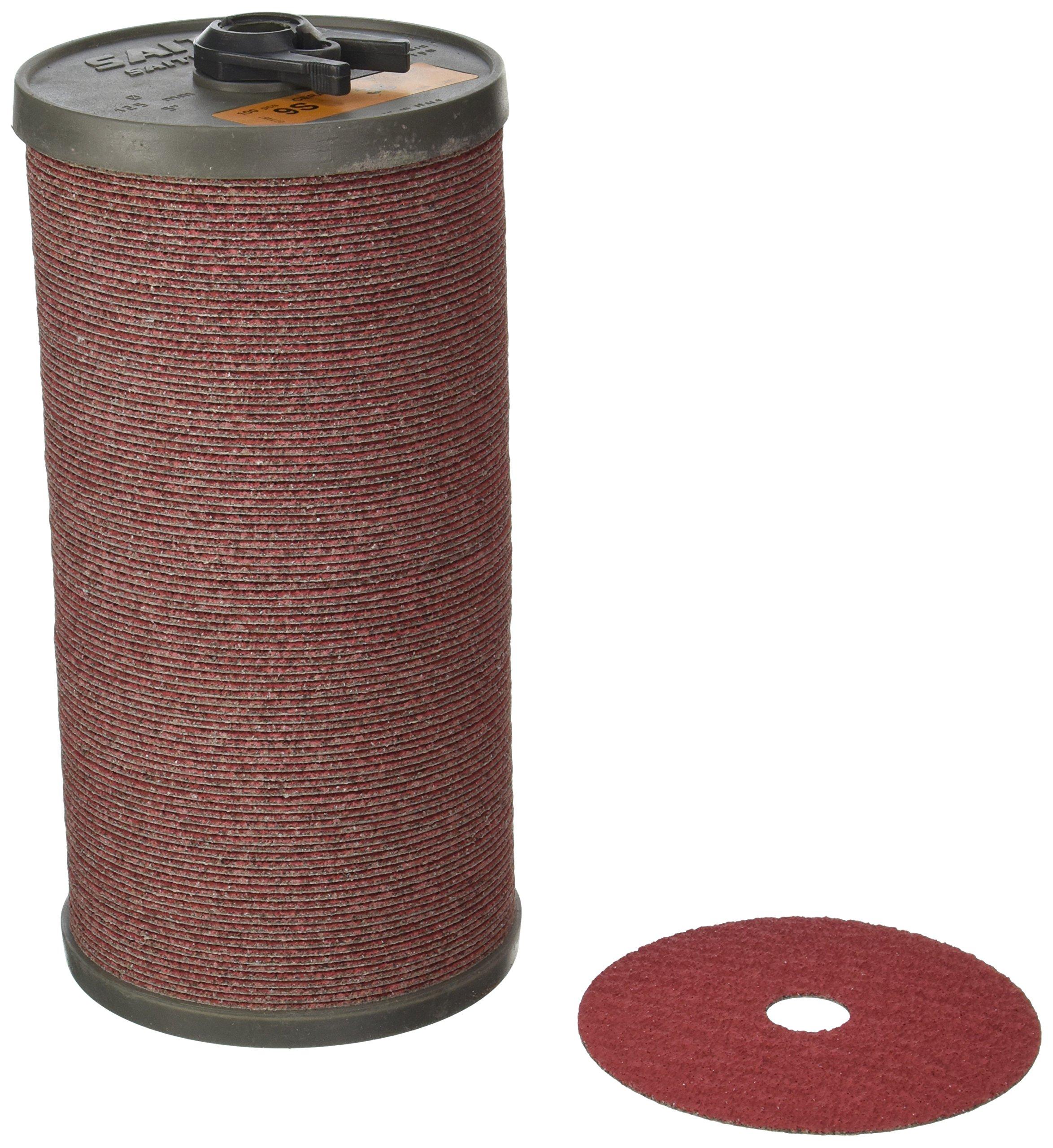 United Abrasives-SAIT 51353 SAIT Fiber Disc, 9S 5 X 7/8 36X Bulk Disc, 100 Pack