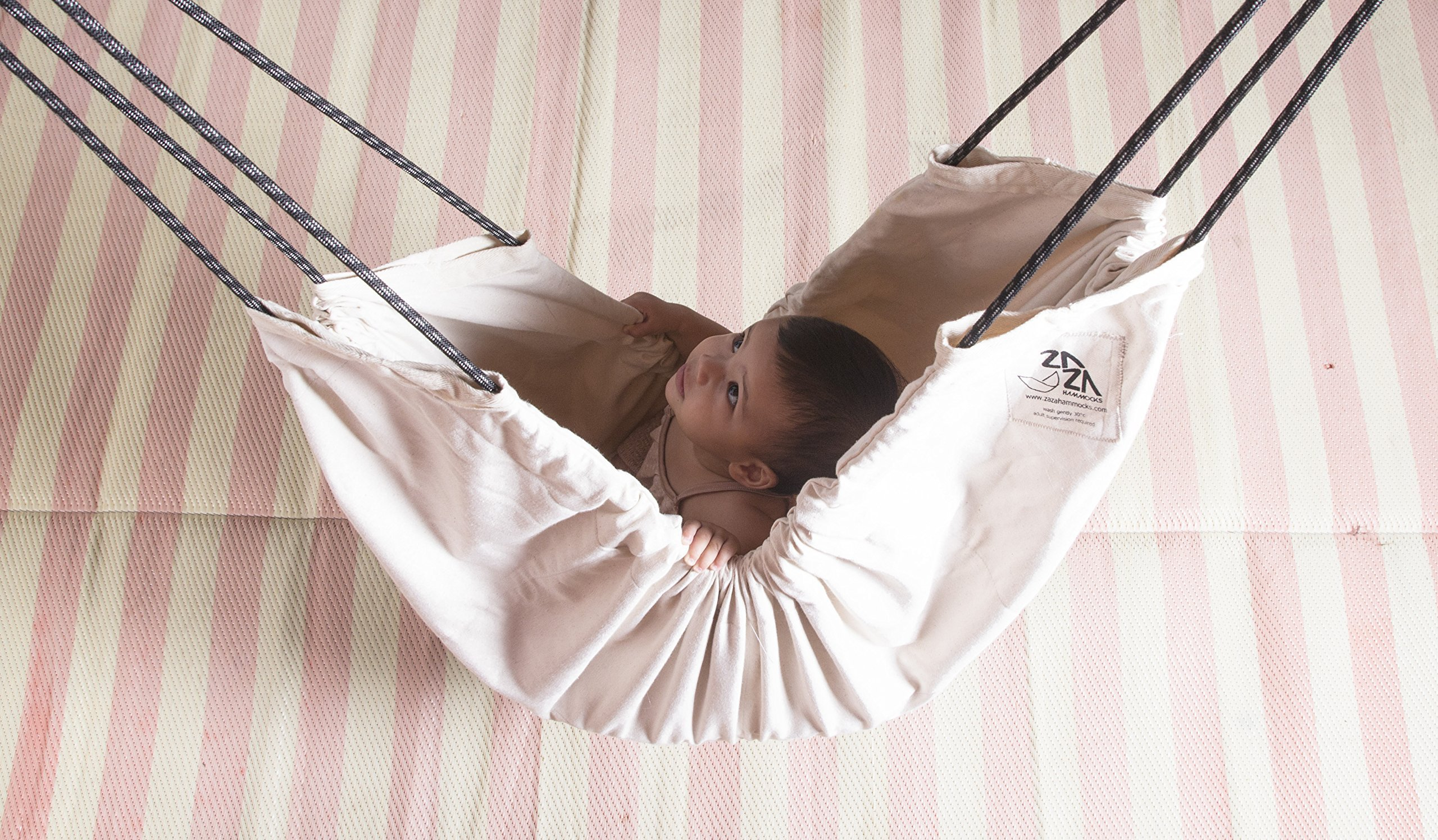 Baby Hammock Swing . Zaza Nature Baby Nest, Swinging Seat Hammock For Babies, Children and Teenagers.