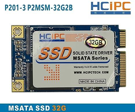 hcipc P201 - 3 p2msm-32g2b 32 G Mini PCIe mSATA SSD de disco de ...
